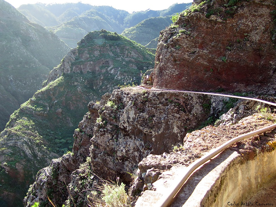 Canal de Bejía - Anaga - Tenerife - barranco seco