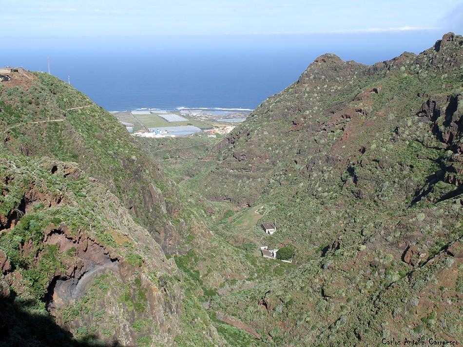 Canal de Bejía - Anaga - Tenerife - barranco seco - punta del hidalgo