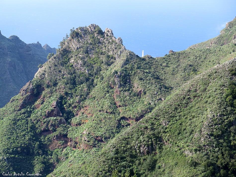 Roque de los Pinos - Faro Punta del Hidalgo - Anaga