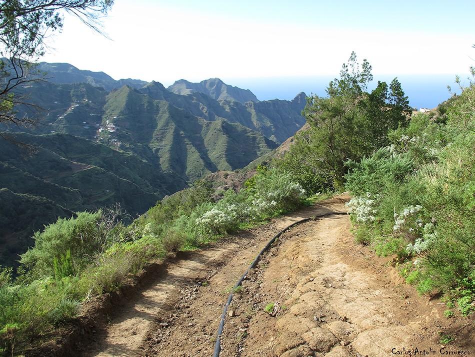 Los Batanes - Anaga - Tenerife - las escaleras