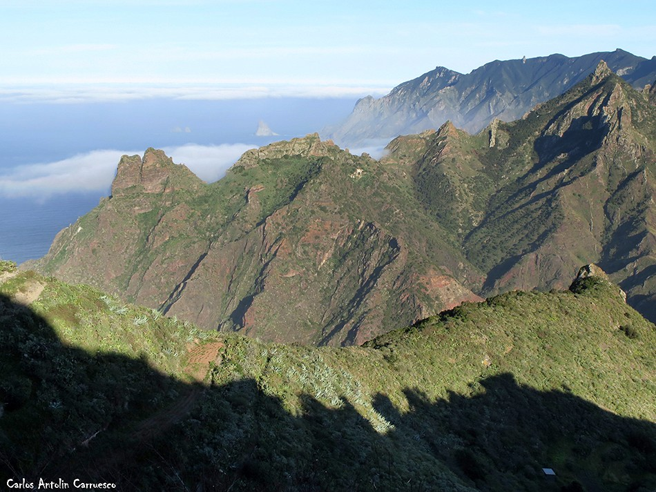 Taborno - Roque Marrubial - Anaga - Tenerife