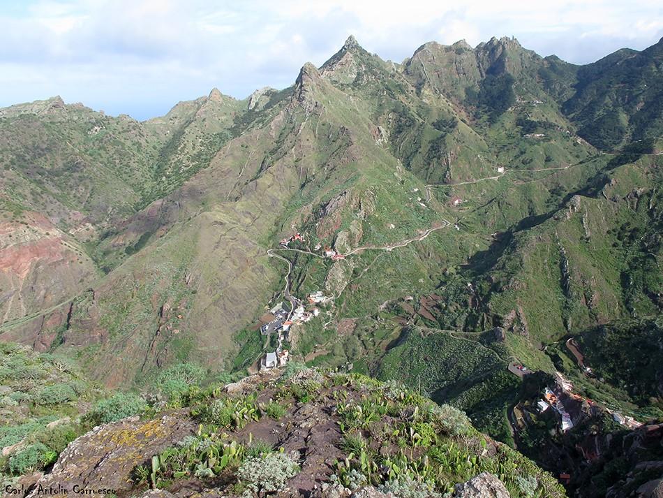 Valle de Afur - Lomo Centeno - Anaga
