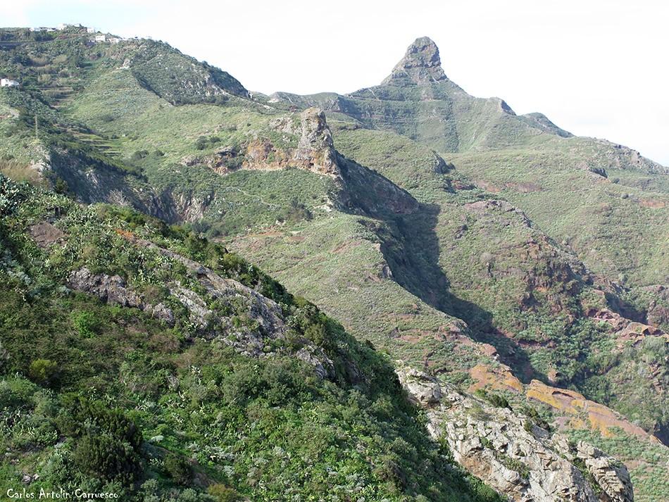 Lomo Centeno - Afur - Anaga - roque de taborno - tenerife