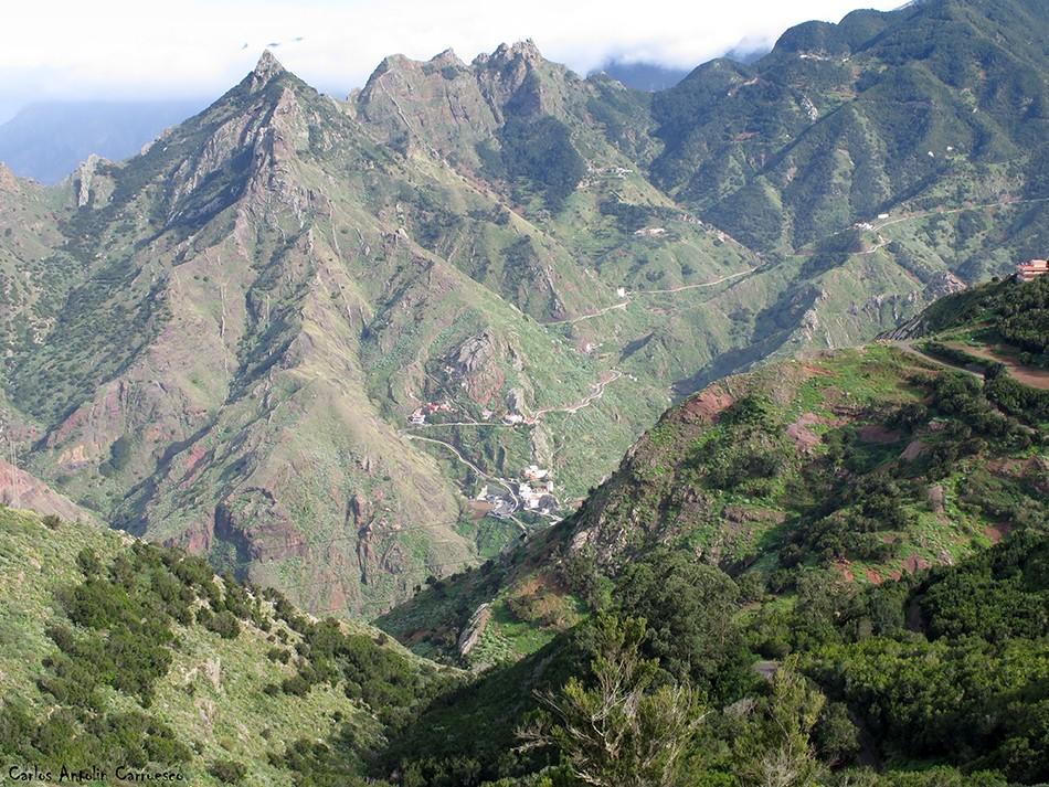 Valle de Afur - Anaga - Tenerife - Taborno