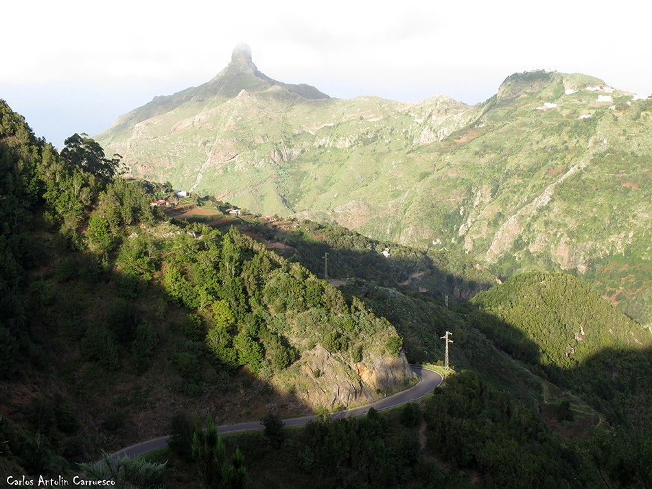 Las Carboneras - Anaga - Tenerife - las escaleras - roque de taborno