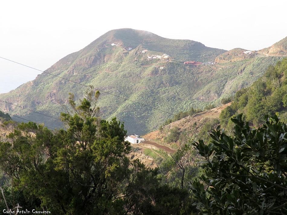 Chinamada en el horizonte - Anaga - Tenerife