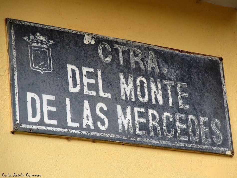 Cruz del Carmen - Anaga - Tenerife - Carretera del Monte de Las Mercedes