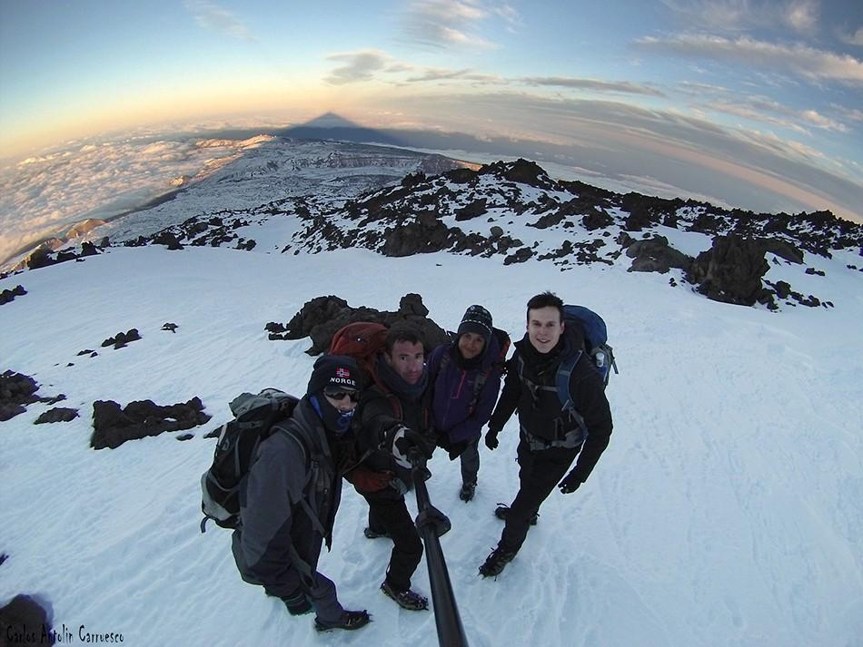 Proyección del Teide - Sombra del Teide - Tenerife