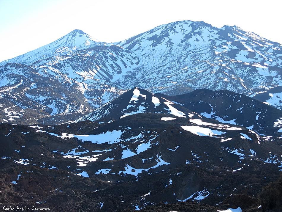 Montaña Reventada - Parque Nacional del Teide - Tenerife - Pico Viejo - Teide
