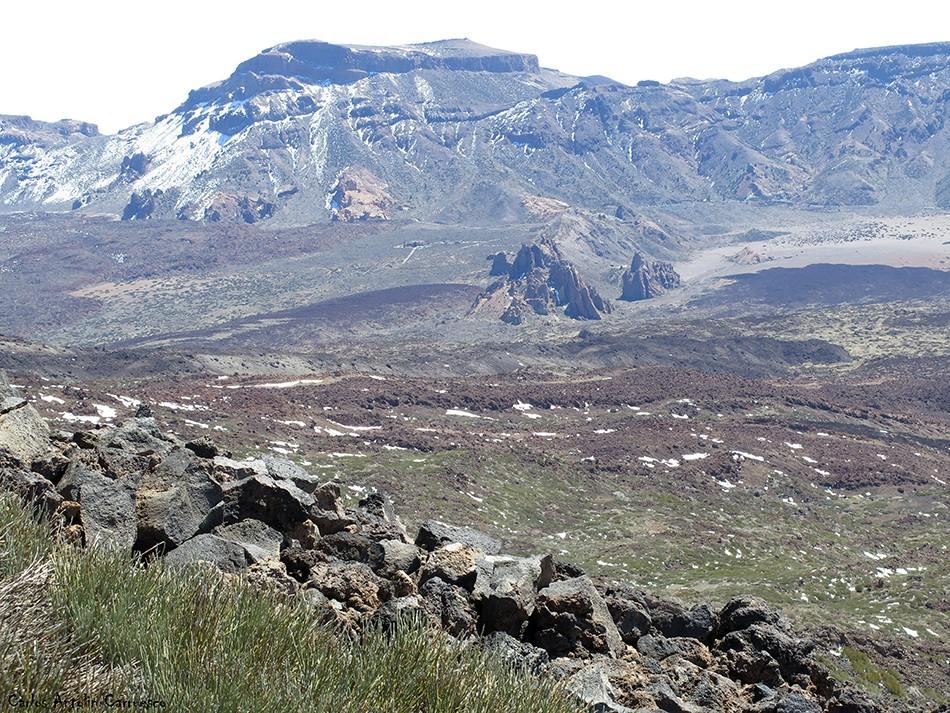 Parque Nacional del Teide - Tenerife - Guajara - Parador Nacional - Roques García