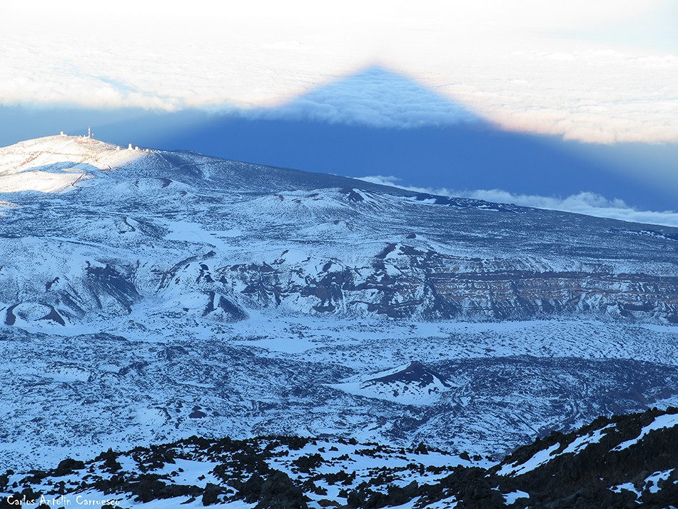 Teide - Tenerife - Proyección del Teide - Sombra del Teide