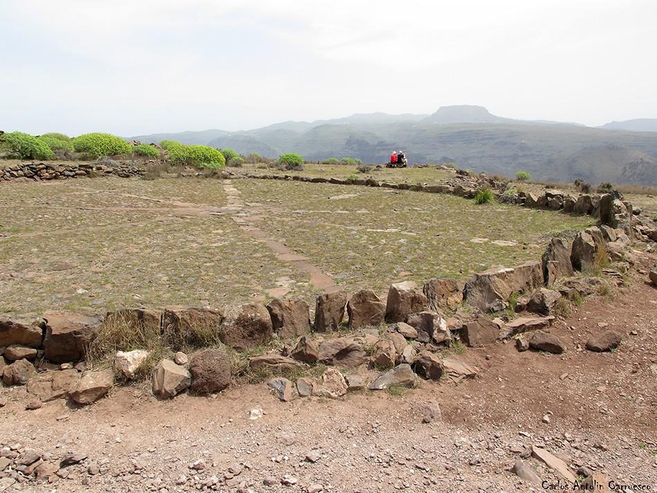 Valle Gran Rey - La Mérica - La Gomera - era circular