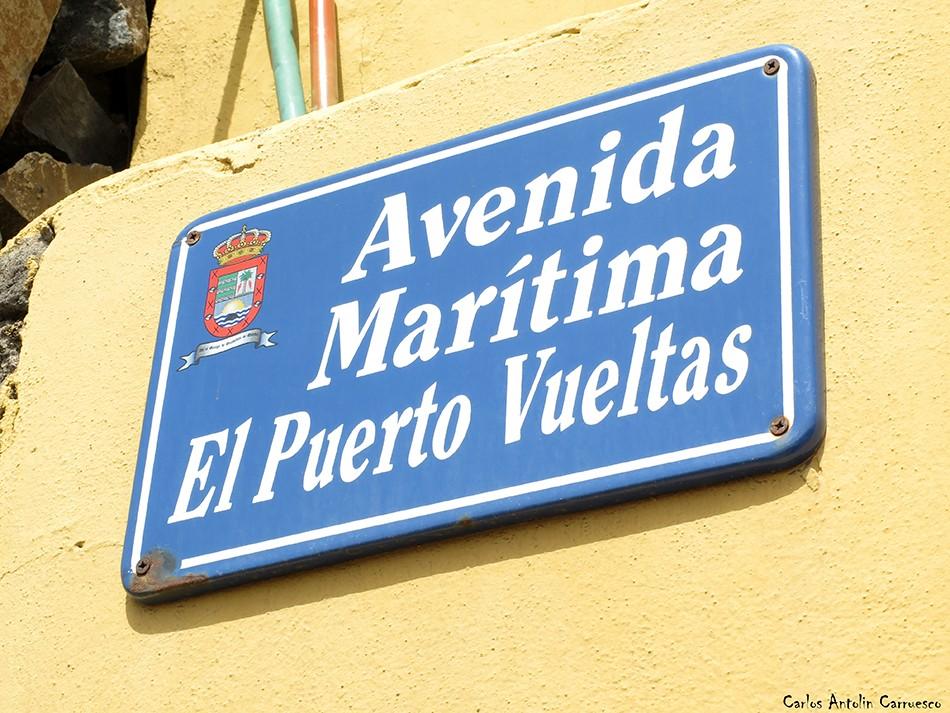 Avenida Marítima El Puerto Vueltas - La Gomera