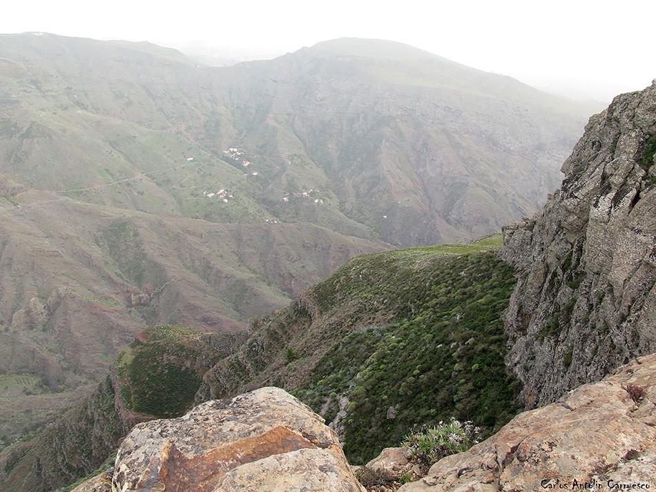 Barranco de Erque - La Fortaleza de Chipude - la gomera