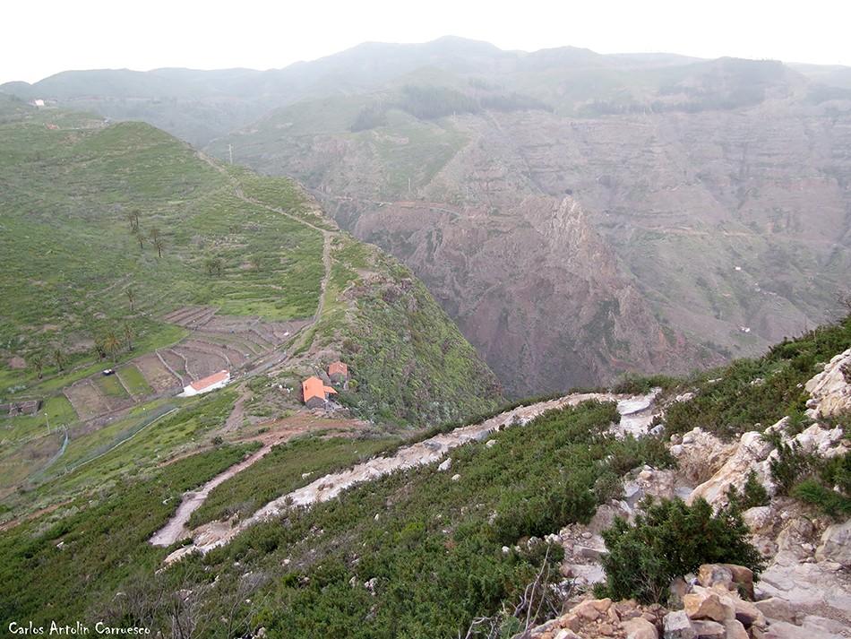 Pavón - La Fortaleza de Chipude - La Gomera