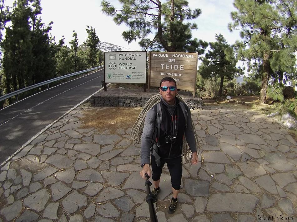 Mirador La Crucita - Parque Nacional del Teide - Tenerife