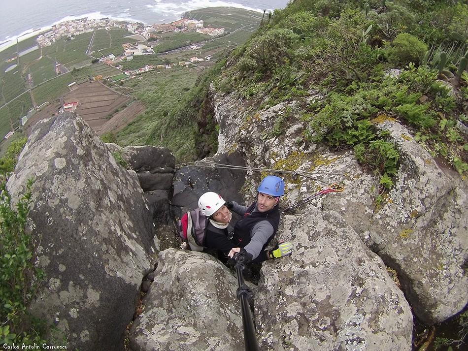 Barranco de Correa - Los Silos - Tenerife - fuga de espinos