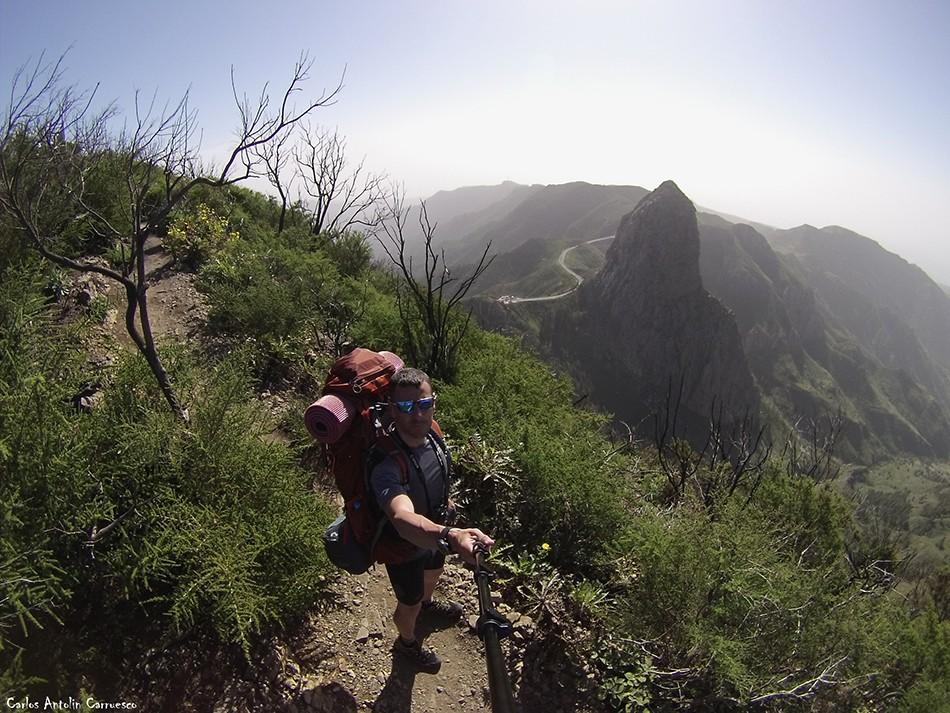 Roque de Agando - GR131 - La Gomera