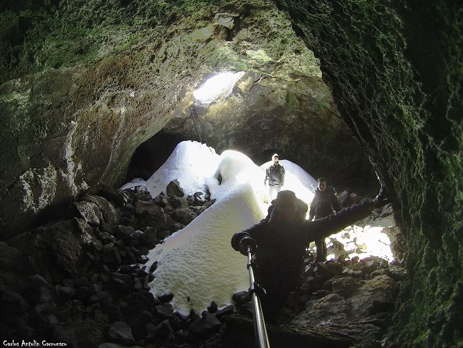 La Cueva del Hielo - Teide - Tenerife