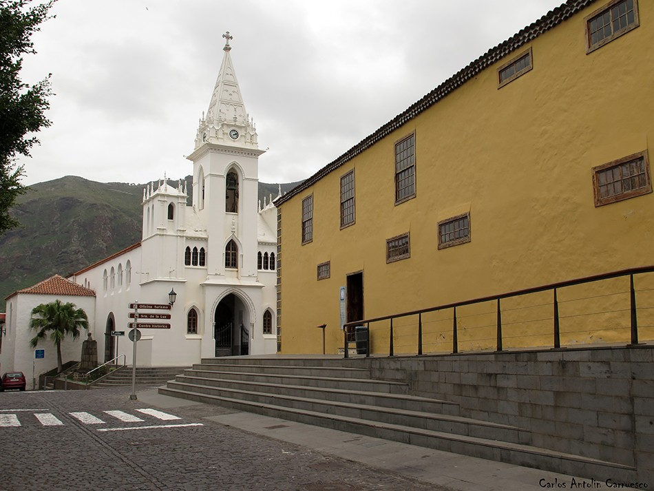 Iglesia de Nuestra Señora de La Luz - Los Silos - Tenerife - exconvento de san sebastian