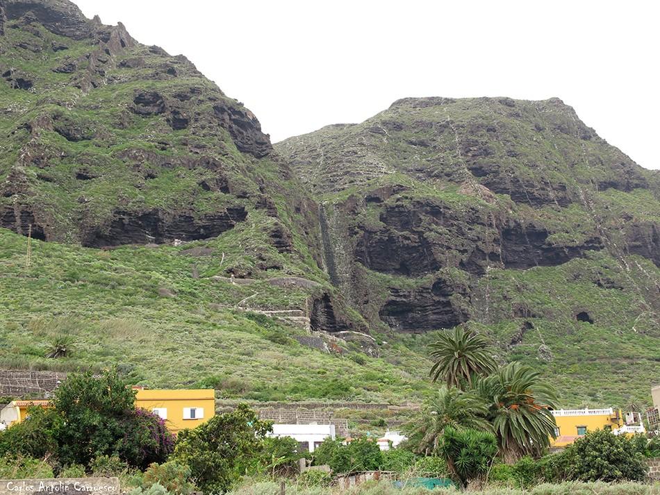 Barranco de Correa - Los Silos - Tenerife - La Fuga de Espinosa - La Caleta