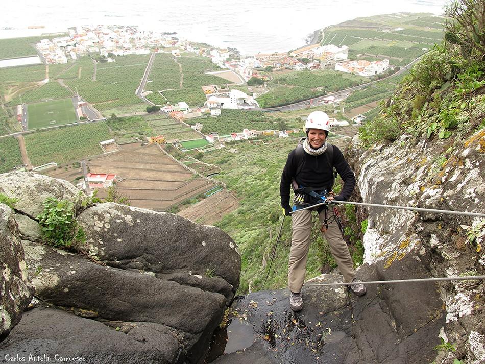 Barranco de Correa - Los Silos - Tenerife - La Fuga de Espinosa - la caleta de interián