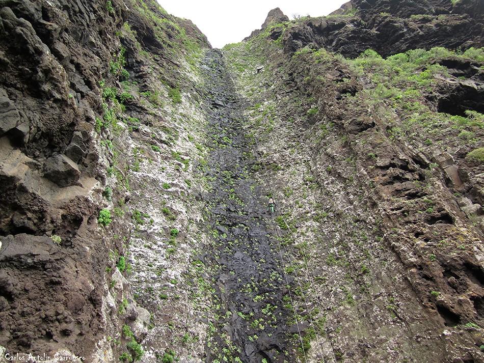 Barranco de Correa - Los Silos - Tenerife - La Fuga de Espinosa