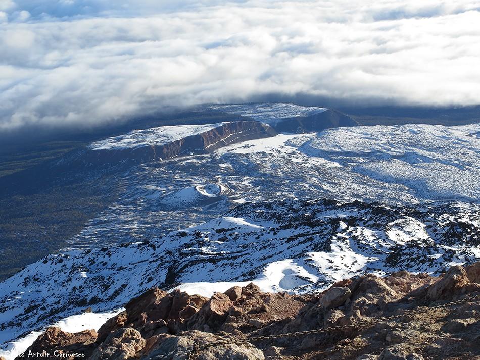 Proyección del Teide - Teide - Tenerife - la fortaleza