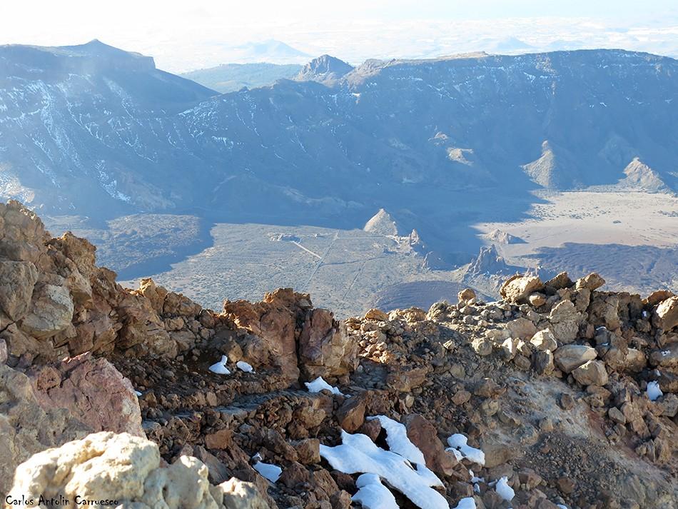 Cráter del Teide - Parque Nacional del Teide - Tenerife
