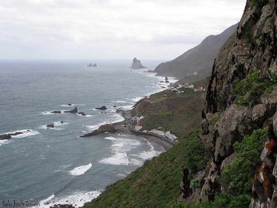 Las Ánimas - Vía Taganana - Tenerife - roque de las bodegas - benijo