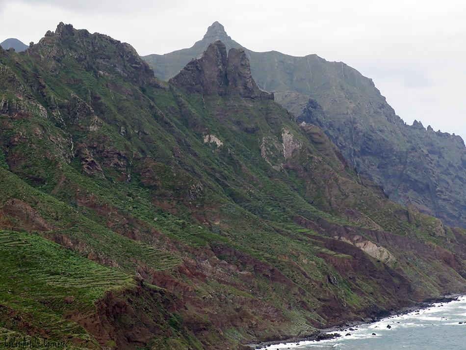 Las Ánimas - Vía Taganana - Tenerife - el marrubial - taborno - anaga