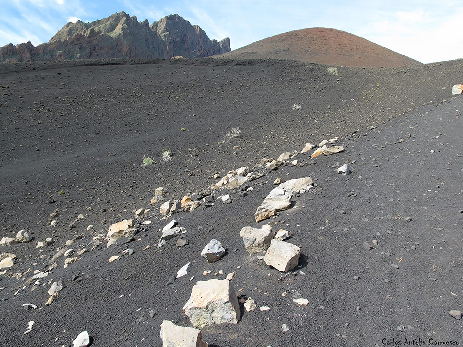 Montaña de Las Arenas - Cho Marcial - Tenerife - Caldera de Pedro Gil
