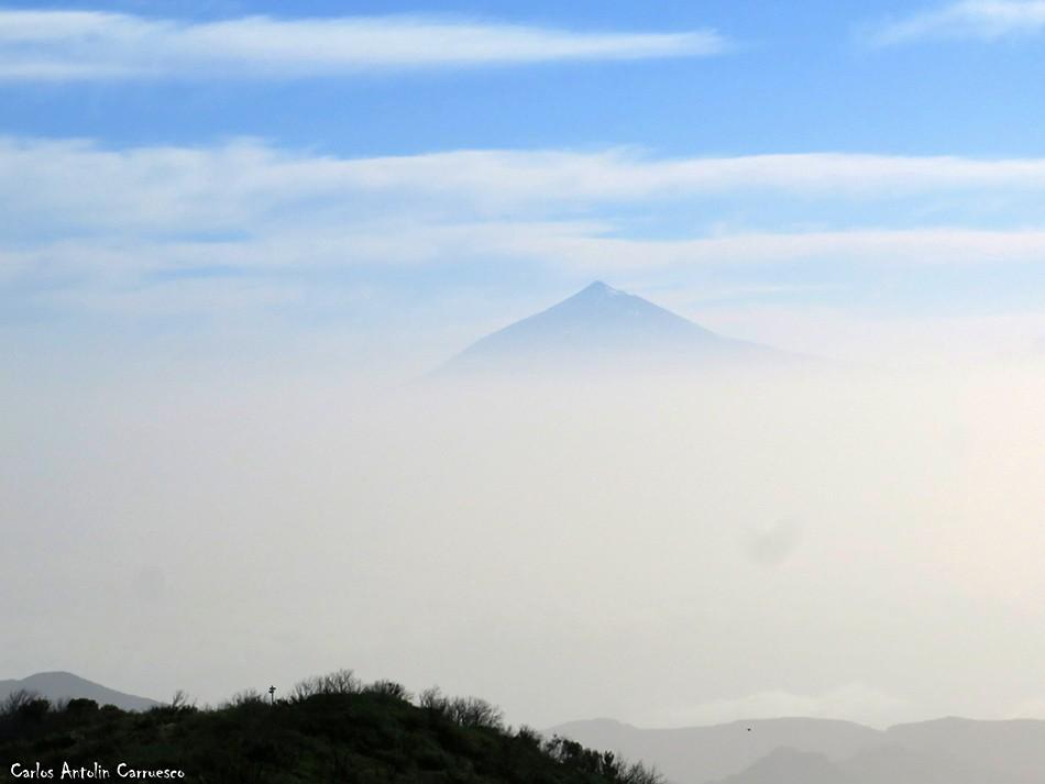 Alto de Garajonay - Parque Nacional de Garajonay - La Gomera - teide
