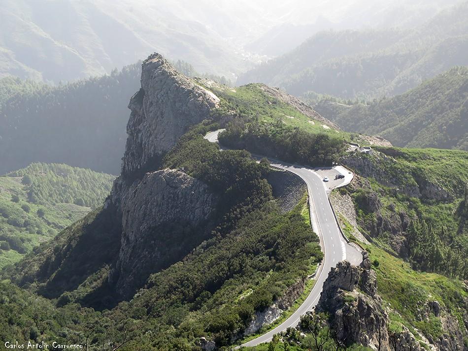 Roque de Las Lajas - La Gomera