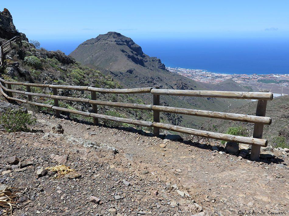 Roque Imoque - Ifonche - Tenerife - camino de suarez - roque del conde - Costa Adeje