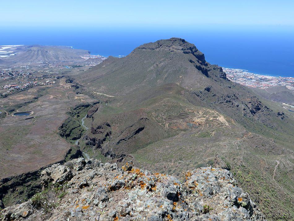Roque del Conde - Ifonche - Tenerife - roque de Imoque