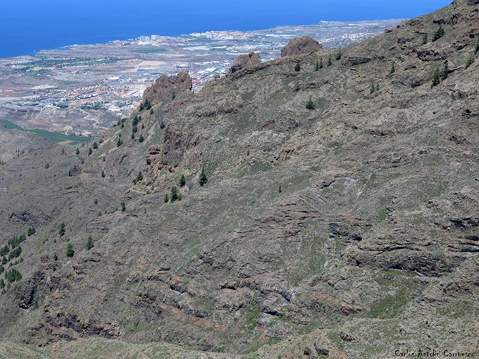Degollada de Los Frailitos - Ifonche - Tenerife - Cima del roque de Imoque