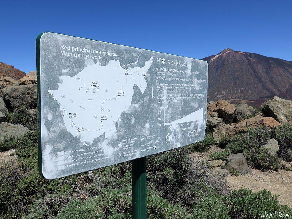 Sendero Número 15 - Teide - Tenerife