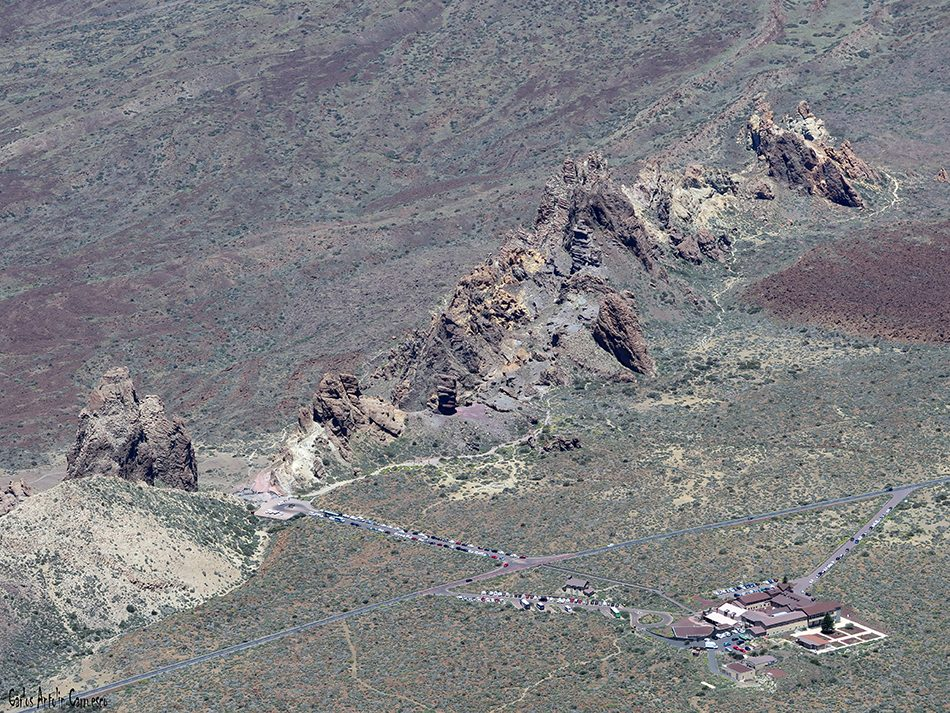 Alto del Guajara - Teide - Tenerife - Roques de García - Parador Nacional de Tenerife