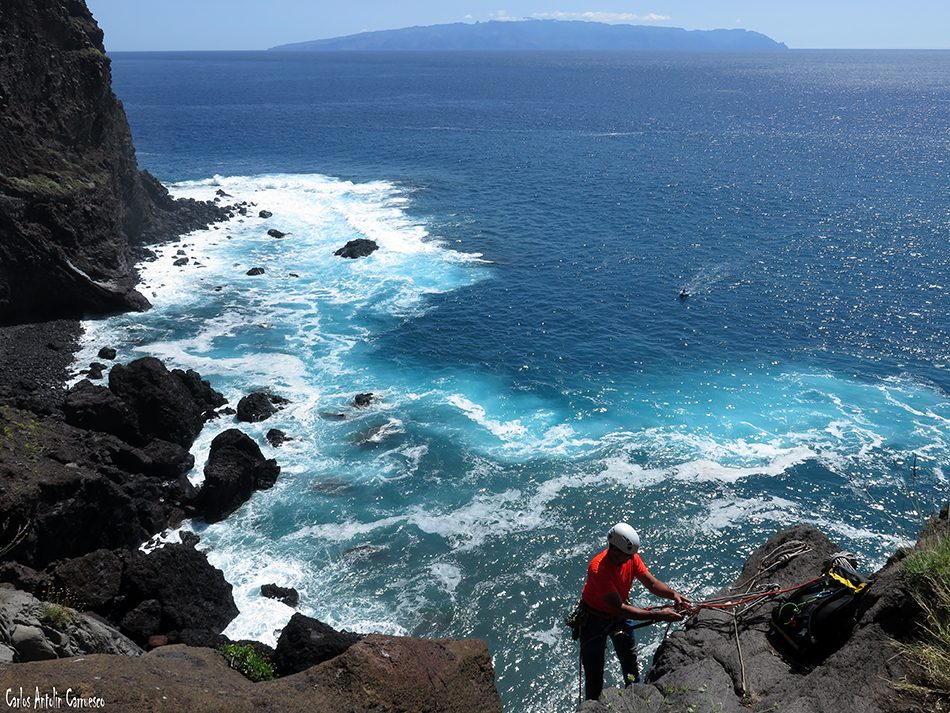 La Calabacera - Los Gigantes - Tenerife - isla de La Gomera