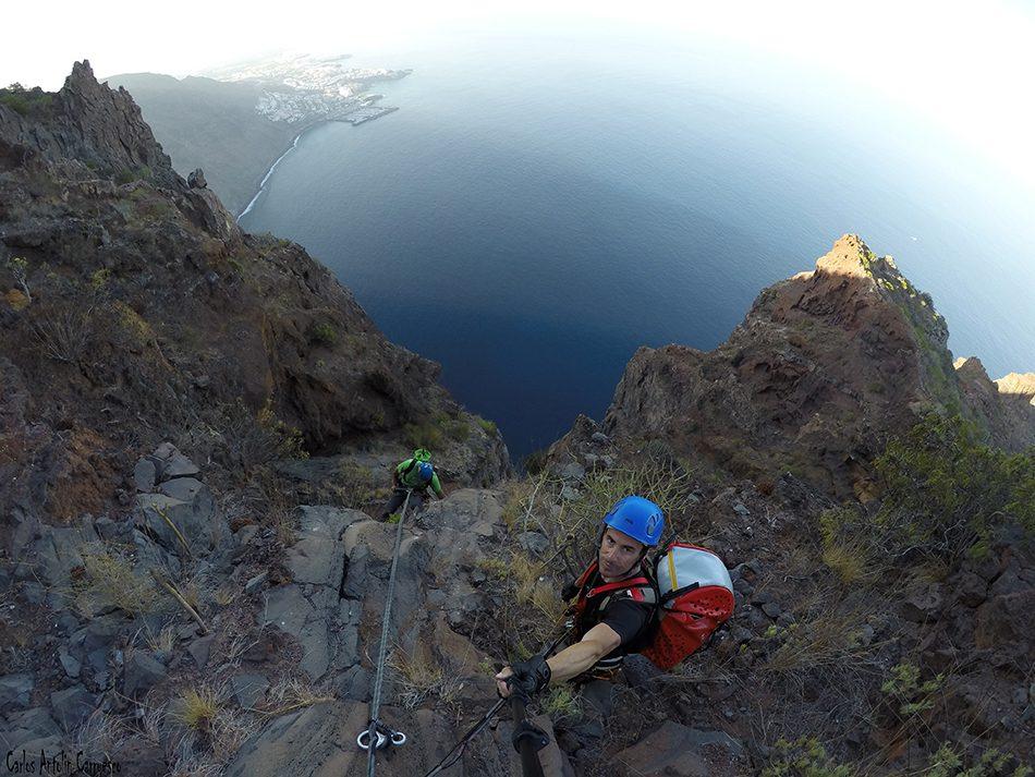 Cabecera de La Eco - 570 metros de altitud - Los Gigantes - La Eco