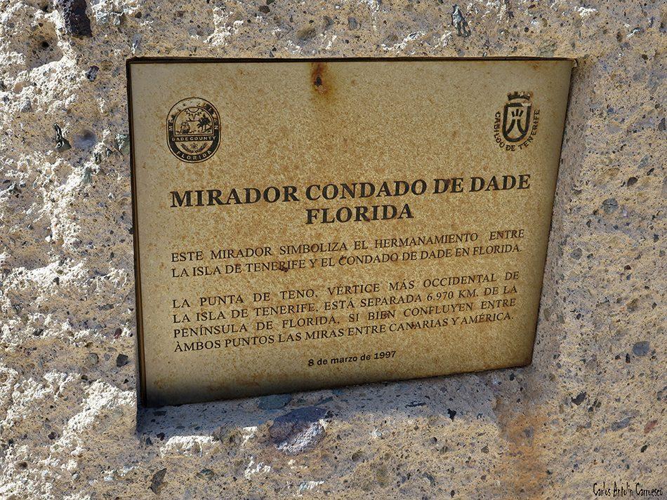 Punta de Teno - Faro de Teno - Tenerife - mirador condado de dade - florida