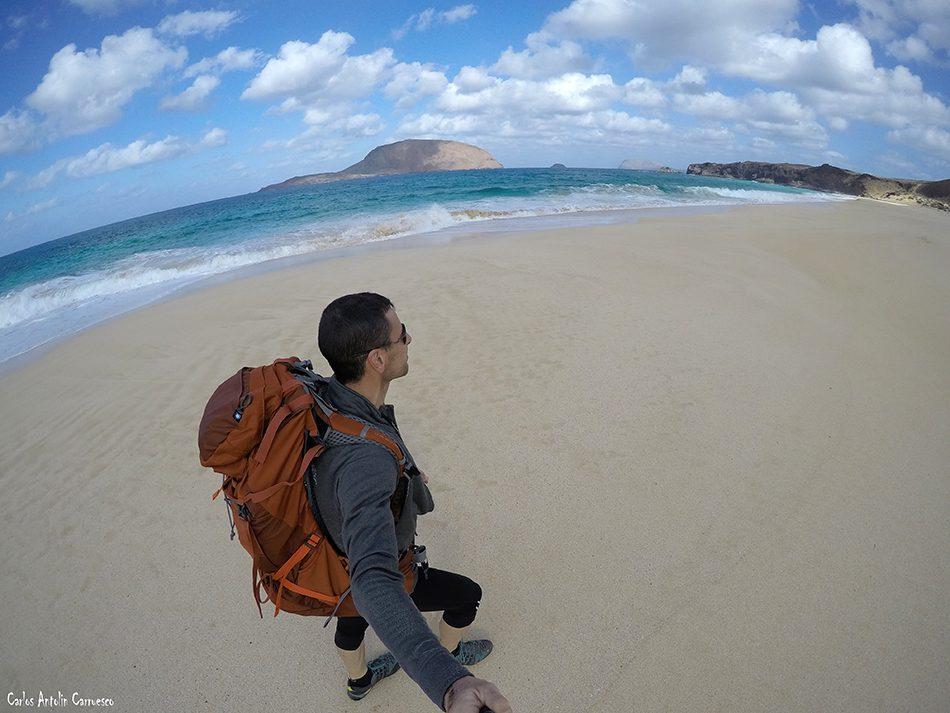 Isla de La Graciosa - Playa de Las Conchas - Lanzarote - Montaña Clara