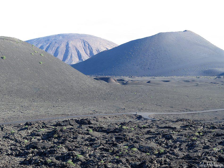 Timanfaya - Lanzarote - ruta de los volcanes - parque nacional de timanfaya