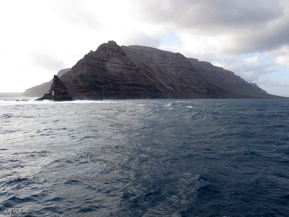Punta Fariones - Risco de Famara - Lanzarote - Líneas Marítimas Romero
