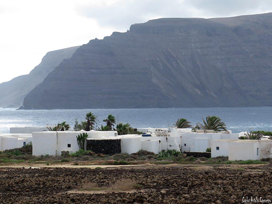 Isla de La Graciosa - Pedro Barba - Lanzarote - punta fariones - Acantilados de Famara