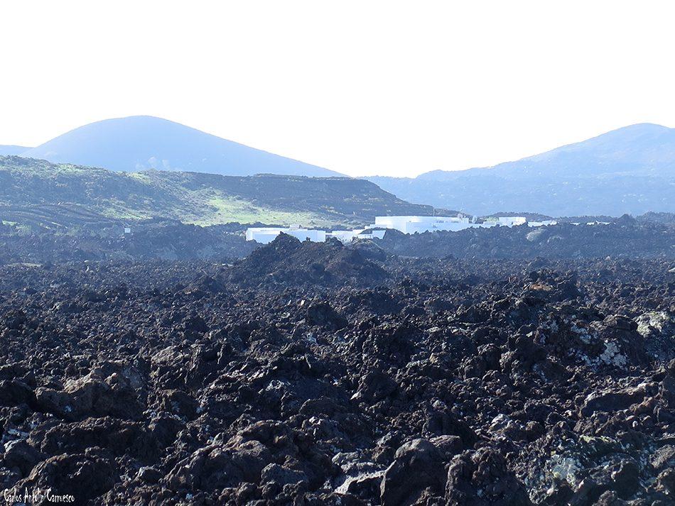 La Caldereta - Caldera de Montaña Blanca - Lanzarote - Centro de Visitantes e Interpretación de Timanfaya