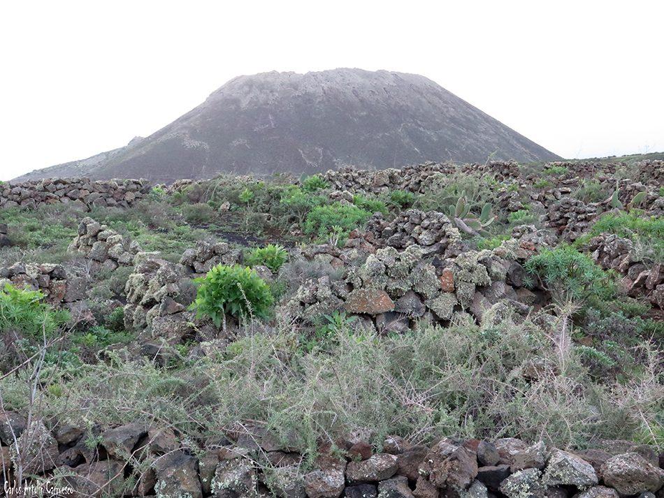 Volcán de La Corona - Lanzarote