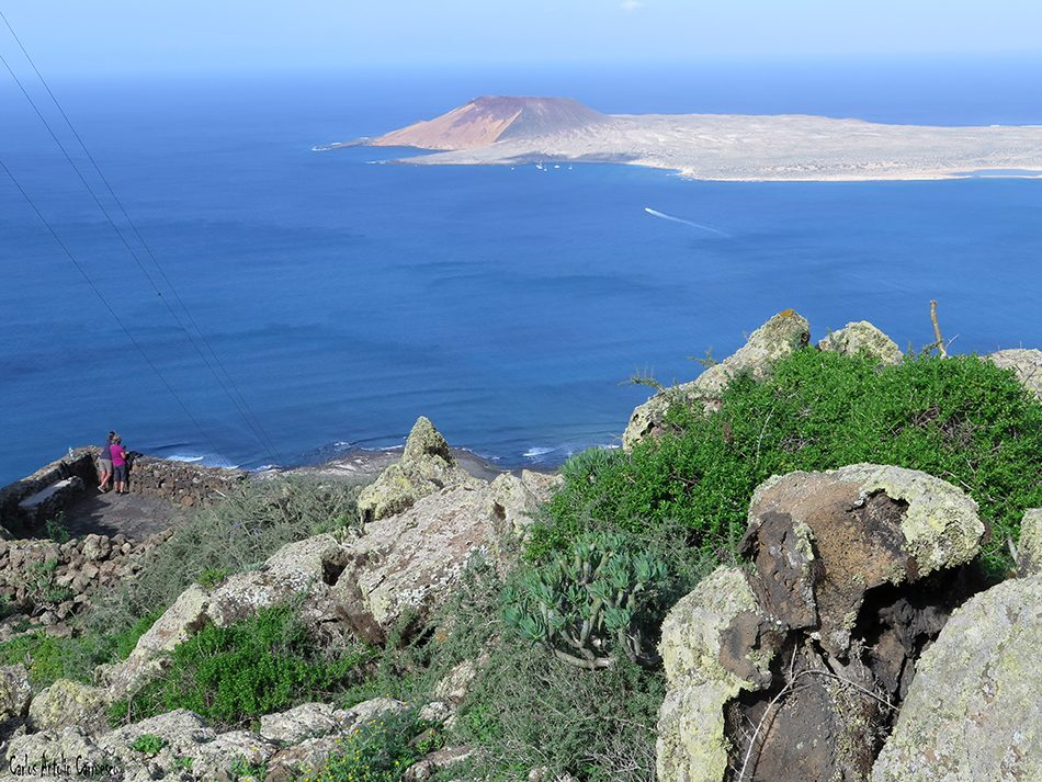 Mirador Playa del Risco - La Graciosa - Lanzarote
