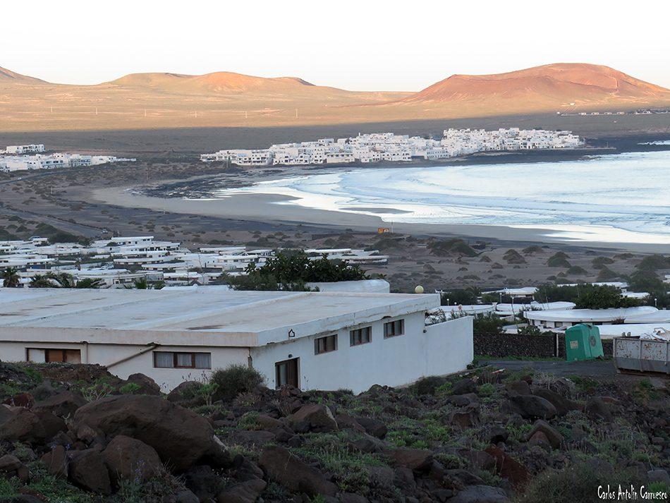 Urbanización Los Noruegos - Playa de Famara - Lanzarote - caleta de famara